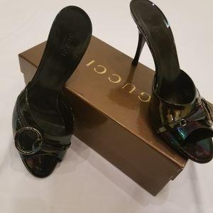 Poshmark Gucci Vernice Soft Floyd Nero Multicolor